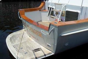 68' Stephens LRC/Trawler 1978 Swim Platform