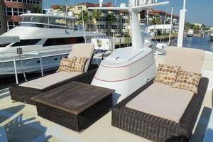 68' Stephens LRC/Trawler 1978 Boat Deck Lounges