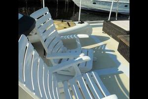 68' Stephens LRC/Trawler 1978 Boat Deck Seating