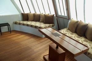 68' Stephens LRC/Trawler 1978 Aft Deck to Starboard