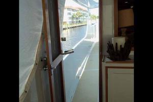 68' Stephens LRC/Trawler 1978 Aft Deck Lucite & Screen Doors