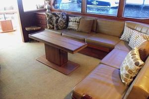 68' Stephens LRC/Trawler 1978 Salon Aft to Port