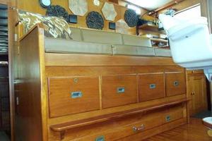 68' Stephens LRC/Trawler 1978 Helm Seat Storage