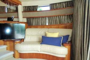 56' Neptunus 56' Flybridge 2004 Salon Loveseat to Starboard