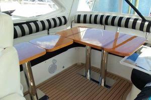 56' Neptunus 56' Flybridge 2004 Flybridge Seating/Dining