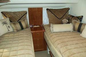 56' Neptunus 56' Flybridge 2004 Guest Cabin Looking Aft