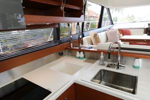 55' Prestige 550 2015 Galley 2