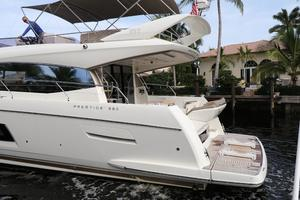 55' Prestige 550 2015 Port Quarter