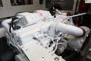 55' Prestige 550 2015 Engine Room 2