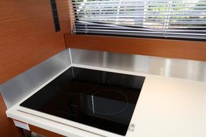 55' Prestige 550 2015 Galley 7