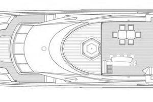 121' Sunseeker Sunseeker 37m 2009 GA - Sky Deck