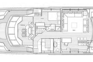 121' Sunseeker Sunseeker 37m 2009 GA - Upper Deck