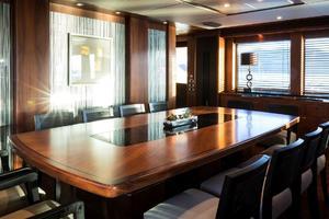 121' Sunseeker Sunseeker 37m 2009 Dining Area Private