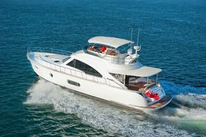 54' Riviera Belize 54 Daybridge 2015 Riviera 54 Belize Daybridge Running Shot