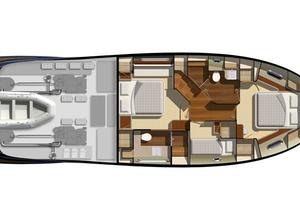 54' Riviera Belize 54 Daybridge 2015 Riviera 54 Belize Daybridge Cabin Layout