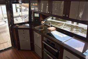 54' Riviera Belize 54 Daybridge 2015 Riviera 54 Belize Daybridge Galley
