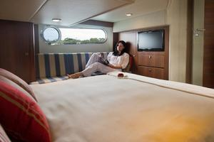 54' Riviera Belize 54 Daybridge 2015 Master Cabin Couch