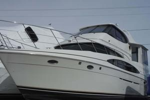 50' Carver 506 Aft Cabin Motor Yacht 2000 Port Side Hauled Out