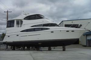 50' Carver 506 Aft Cabin Motor Yacht 2000 On the Hard