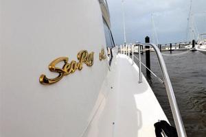 48' Sea Ray 480 Sedan Bridge 1999 Starboard Gunnel