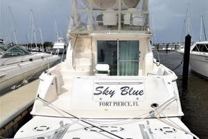 photo of Sea-Ray-480-Sedan-Bridge-1999-Sky-Blue-Fort-Pierce-Florida-United-States-Stern-View-920124