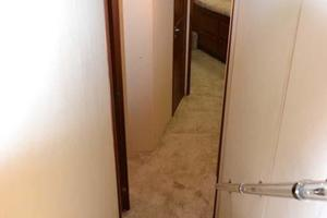 53' Viking Convertible 1990 Hallway to Staterooms