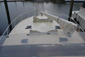 53' Viking Convertible 1990 Foredeck