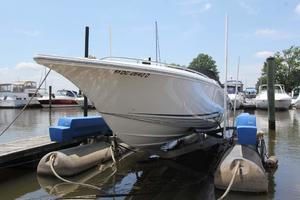 38' Fountain 38 Lightning 2009 Port Bow