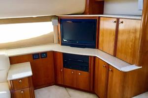 40' Meridian 408 Motoryacht 2004 Salon TV