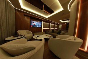 167' Custom Yildizar Yachting 2017 Main Lounge
