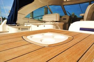 48' Sea Ray 48 Sundancer 2008 Table with Built-In Cup Holders