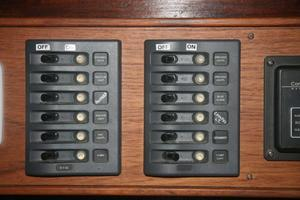 photo of Custom-John-Walsh-Expedition-Schooner-1988-Quest-Ft.-Lauderdale-Florida-United-States-Light-Switch-Panel-924077
