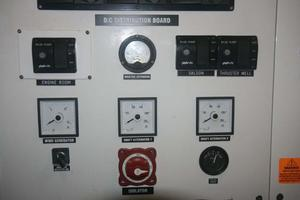 65' Custom John Walsh Expedition Schooner 1988 ER DC Distribution Panel