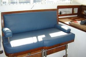 65' Custom John Walsh Expedition Schooner 1988 Pilothouse Seating