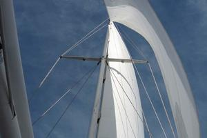 65' Custom John Walsh Expedition Schooner 1988 At Sail
