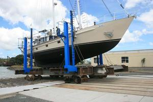 65' Custom John Walsh Expedition Schooner 1988 On The Hard