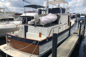 46' Grand Banks 46 Classic 1986 Starboard Aft Quarter
