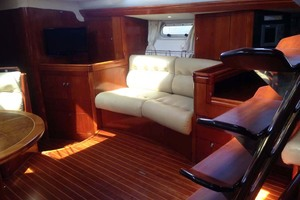 56' Oyster 56 1998 Saloon Starboard