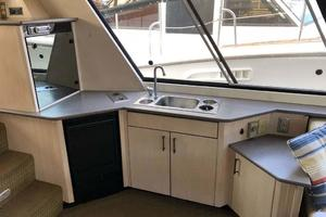 47' Bayliner 4788 Pilothouse 1995 Wetbar