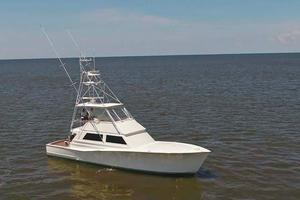 53' Monterey Custom Sportfish 1978 Port View
