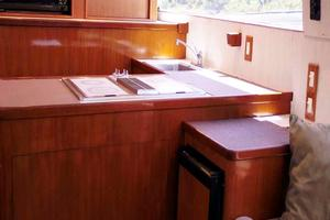 53' Monterey Custom Sportfish 1978 Galley and Icemaker