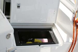 53' Monterey Custom Sportfish 1978 Helm Storage Box