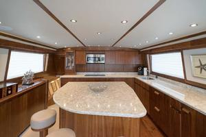 65' Monterey 65 Convertible Custom Sportfish 1991 Galley