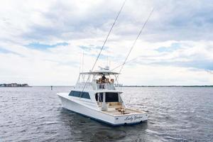 65' Monterey 65 Convertible Custom Sportfish 1991 Port Aft Quarter