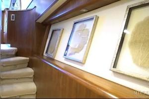 65' Monterey 65 Convertible Custom Sportfish 1991 Stairs to Staterooms