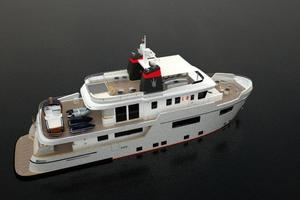 101' Ocean King Americana 2020 Aft Deck with Tenders