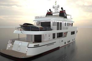 101' Ocean King Americana 2020 Stern
