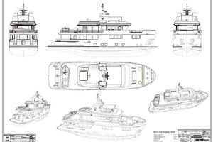 101' Ocean King Americana 2020 Layout, Exterior