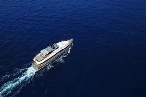 126' Admiral impero 2016 M/Y Tremenda- aerial view