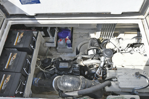 50' Naval Yachts 50 Yacht Cat 2011 Engine Compartment